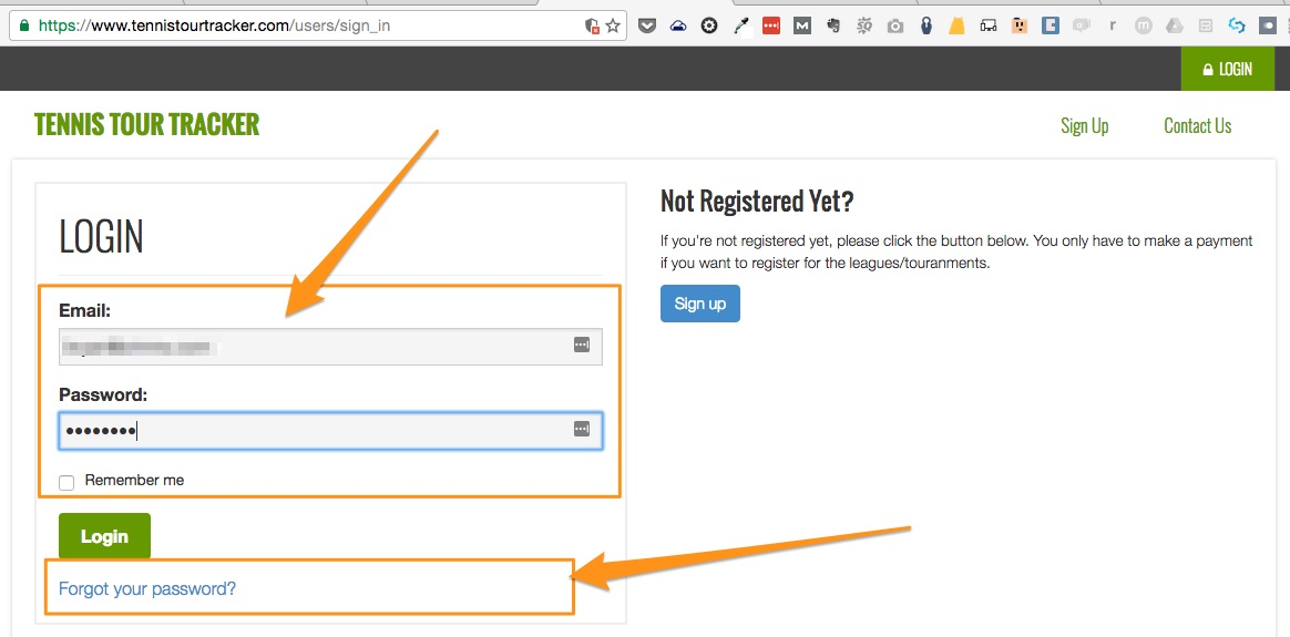 2-previous-registration-enter-credentials